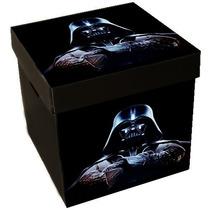 Caja Guarda Juguetes Star Wars Corrugado Plástico 33x33x34cm