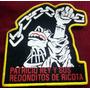 Redondos Oktubre Parche Impreso Borde La Plata *9y530*