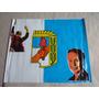 Bandera Del Partido Justicialista P J Eva Y Juan D Peron