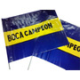 Banderin De Futbol Boca X Unidad Local Once