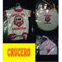 Bebe X3 Body + Babero +gorro Crucero Del Norte