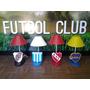 Veladores Con Escudos De Clubes De Futbol