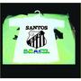 Hermosa Camiseta De Bebe De Santos Fc Brasil
