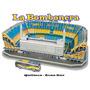 Estadio 3d. Maqueta Para Armar. Boca - La Bombonera Quilmes