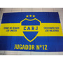 Bandera Telon Boca Juniors La 12 - Microcentro