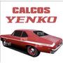 Calcos Chevy Yenco - Franjas Laterales - Serie 2 - Ploteoya!