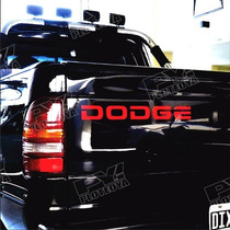 Calco Dodge Porton Dakota Sport - Calcomania - Ploteoya!