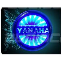 Insignia Luminosa 3d Logo Yamaha Honda Para Auto Moto Ek0445