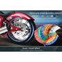 16 Cintas Para Llanta Moto Reflectivas Impermeable Tunning