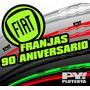 Kit Calcos Franjas Fiat 90 Aniversario - Ploteoya!