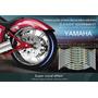 16 Cintas Para Llanta Moto Yamaha Reflectivas Impermeable