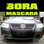 Mascara Kit Trompa De Bora En Vinilo - Simil Carbono