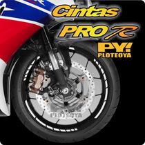 Cintas De Llanta Pro R De Honda Yamaha Suzuki Gilera Bajaj