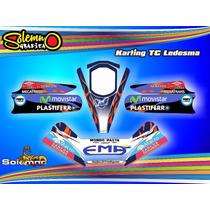 Calcos Para Karting Tc Varios Laminado Grueso De Competición
