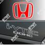 Calco Honda Ivtec Dohc New Civic Si Calcomania Ploteoya!