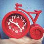 Reloj Despertador Bicicleta Moderno En Lemensiedeco !!!