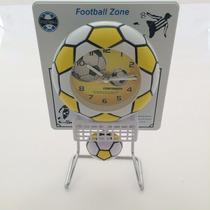 Reloj Futbol Pelota Pendulo Con Movimiento Escritorio Oferta