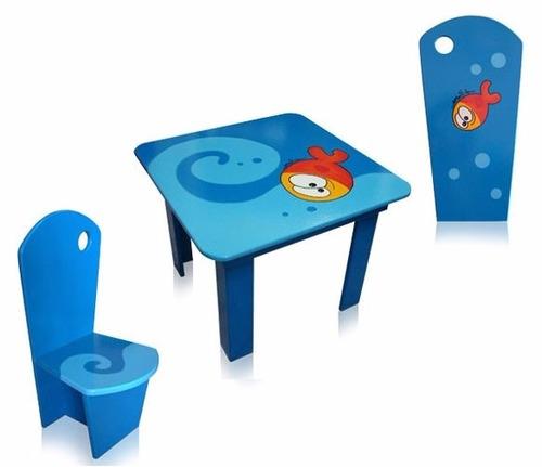 Mesa y silla muebles para ni os mesa c 2 sillas punto for Sillas para 2 ninos diferente edad
