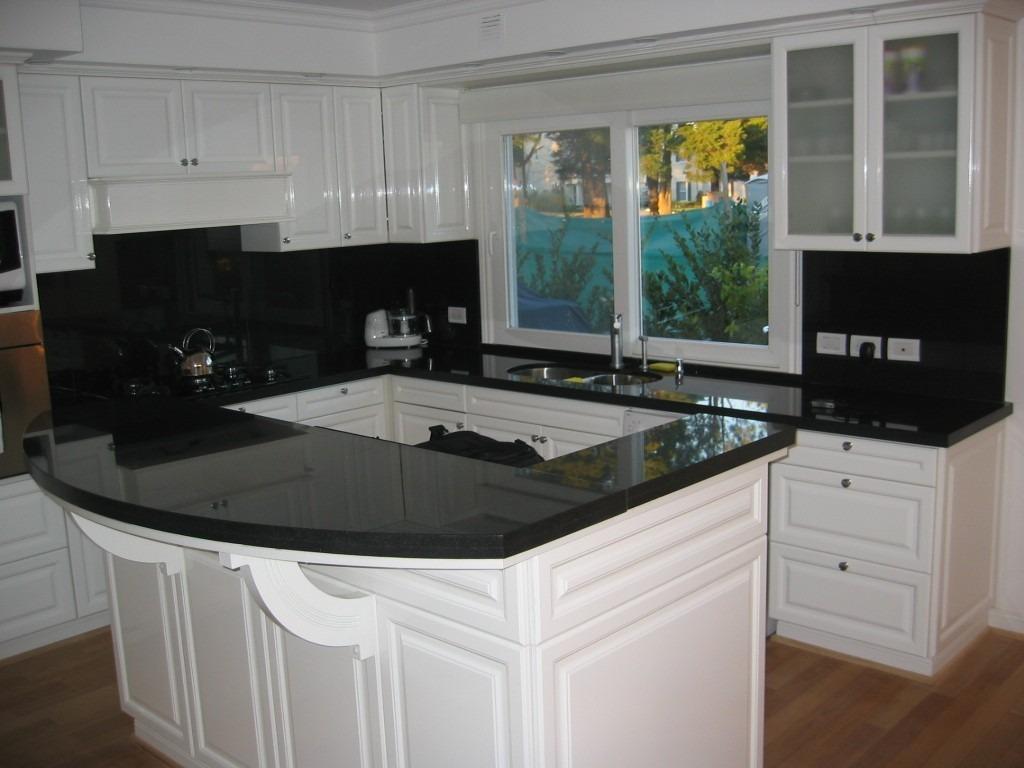 Marmol de cocina dise os arquitect nicos for Marmol negro para cocina