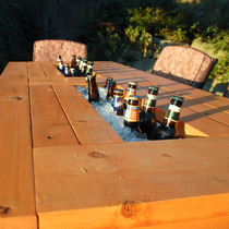 Mesa Hielera Para Mantener Bebidas