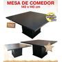 Mesa De Comedor De 120x120cm En Melamina Dacomuebles
