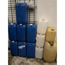 Bidones Plasticos De 30 Litros Impecables Para Nafta, Etc