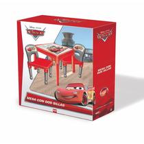 Juego De Mesa Y Sillas De Cars Mickey Sofia Original