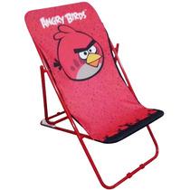 Reposera Para Chicos Angry Birds 3 Posiciones
