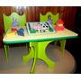 Princesa Sofia 2 Sillas+mesas Infantiles