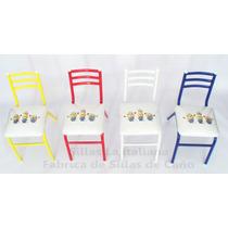 Sillas Infantiles X4 Minions-niños-mesa Nenes-juego Infantil