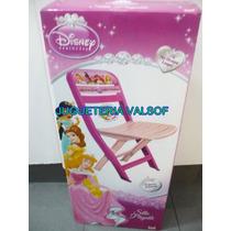 Silla De Princesas Y Mickey Mouse Plastico Niños Resistente