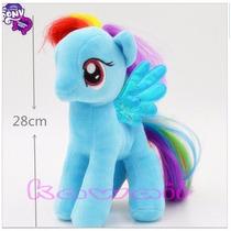 Mi Pequeño Pony My Little Pony Marca Ty Hasbro 28 Cm.peluche