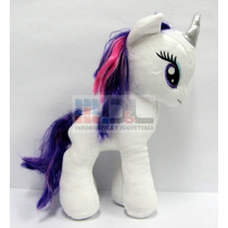 Peluche My Little Pony Rarity Grande 28cm Original Hasbro Ty