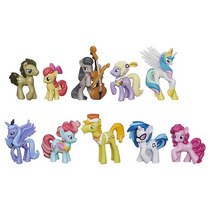 My Little Pony - Set De 10 Mini Ponies Exclusivos - ¡nuevo!