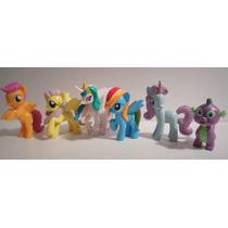 My Little Pony Mi Pequeño Pony Set X 6 Figuras 5 Cm.