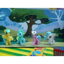 Set Pony 4 Figuras Ideal Decoracion Tortas Reysancho Urquiza