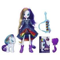 My Little Pony Equestria Girls Rarity Muñeca Y Pony Rainbow
