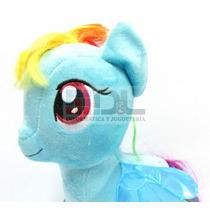 Peluche My Little Pony Original Rainbow Dash Grande 28cm Exc