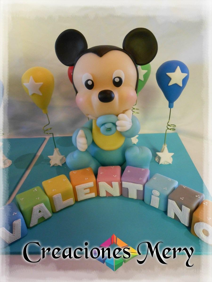 Mickey Bebé En Porcelana Fría - $ 220,00 en MercadoLibre