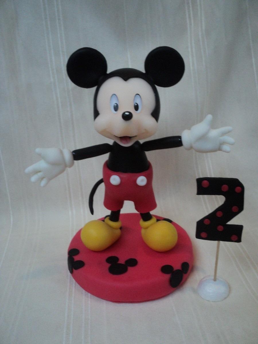 Portaretratos Mickey Mouse Porcelana Fria Souvenir - Arte y ...