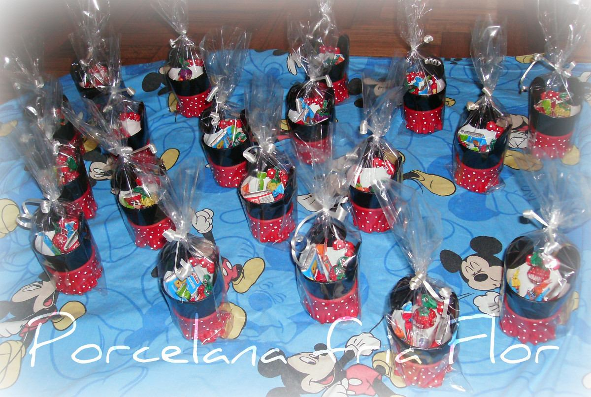 Dulcero de Mickey Mouse para Cumplaeños - YouTube
