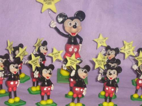 Mickey O Minnie Souvenirs Y Adornos Torta - $ 15,50 en MercadoLibre