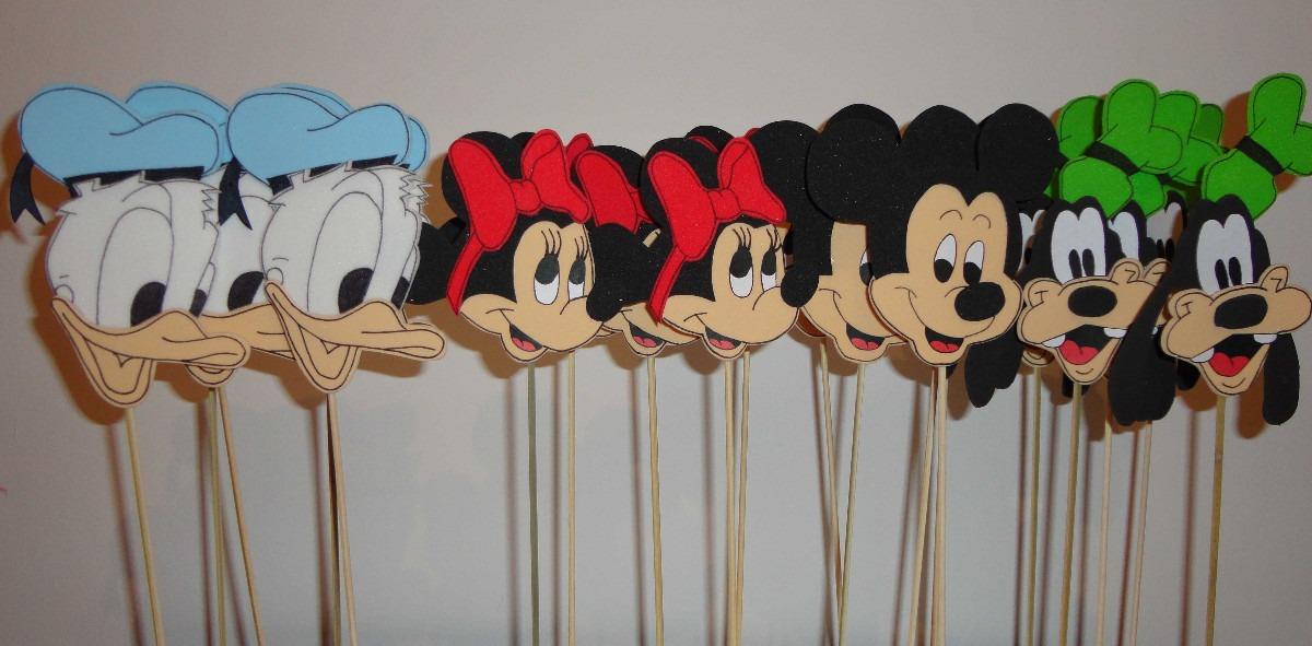 Mickey Y Sus Amigos Souvenirs En Goma Eva - $ 12,00 en MercadoLibre