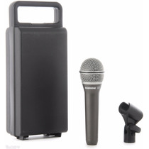 Microfono Profesional Dinamico Samson Q7 C/ Estuche Y Pipeta