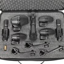 Shure Pgadrumkit7 Set De Micrófonos Batería Estuche Cables