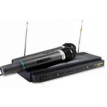 Set De Microfonos Dobles Receptor Inalambricos Alta Fidelida