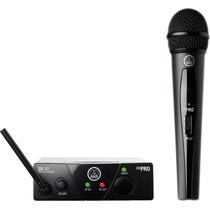 Microfono Inalambrico Vocal Mano Akg Wms40 Mini Uhf Sistema
