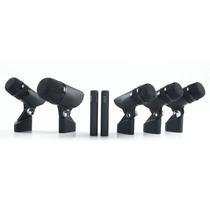 Proel Dmh85 Kit De 7 Microfono Para Bateria