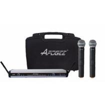 Apogee U2 Doble Microfono Inalambrico Frecue Uhf Dj Todelec