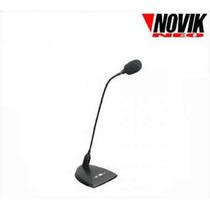 Novik Fnk 10 Microfono Con Base Y Cuello Ganso Conferencia